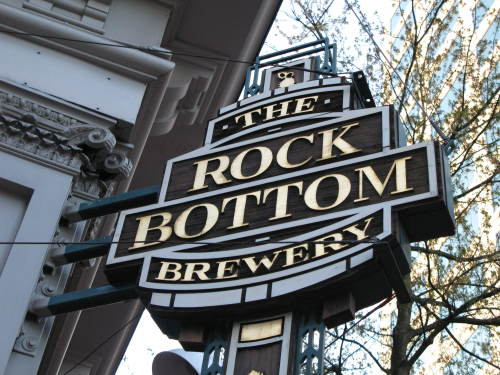 Image result for Rock bottom brewery portland